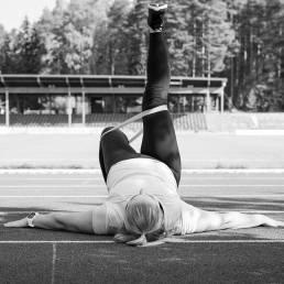 Anna Katrin, valmentaja